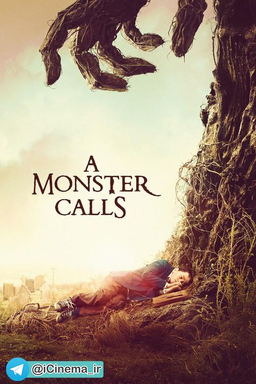 پوستر فیلم A Monster Call 2016