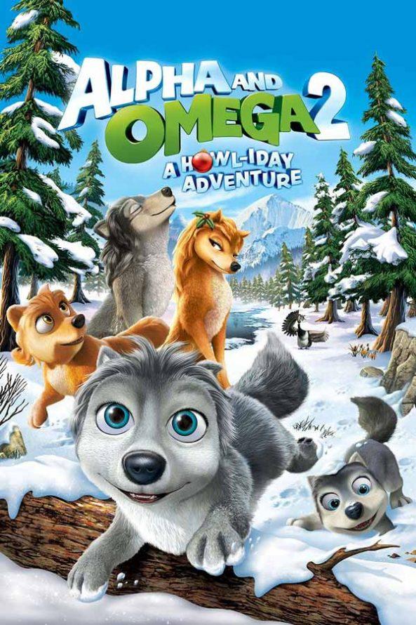 پوستر انیمیشن آلفا و امگا 2 Alpha and Omega 2 A Howl-iday Adventure 2013