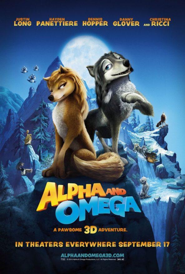 پوستر انیمیشن Alpha and Omega 2010