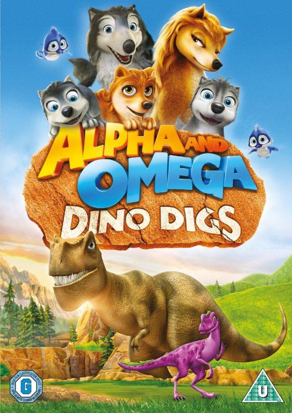 پوستر انیمیشن آلفا و امگا 3 Alpha and Omega Dino Digs 2016