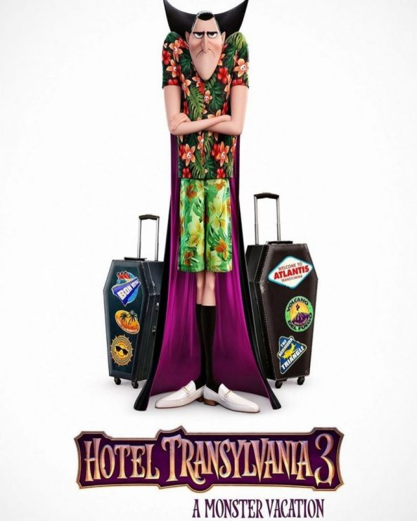 پوستر انیمیشن Hotel Transylvania 3: Summer Vacation 2018