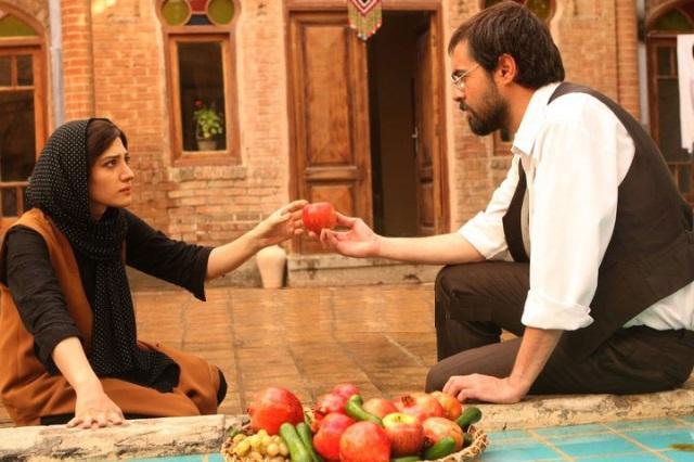 نمای دوم فیلم با حضور مینا ساداتی و شهاب حسینی