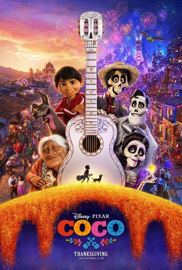 پوستر انیمیشن Coco 2017