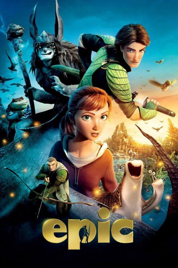پوستر انیمیشن Epic 2013