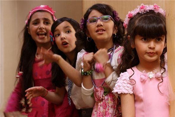 نمای دوم فیلم Fitile va Mah Pishouni با حضور بازیگران خردسال