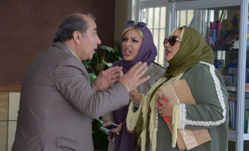 نمای دوم فیلم Hashtag با حضور نیوشا ضیغمی، بهاره رهنما و مهرداد فلاحتگر