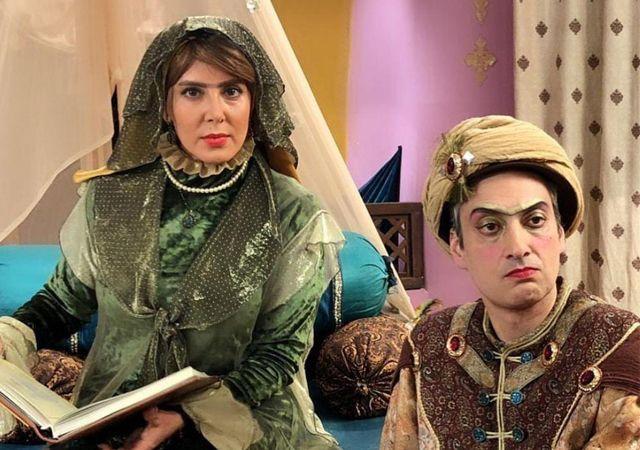 نمای سوم خاله سوسکه قسمت 10 با حضور ارژنگ امیرفضلی و لیلا بلوکات