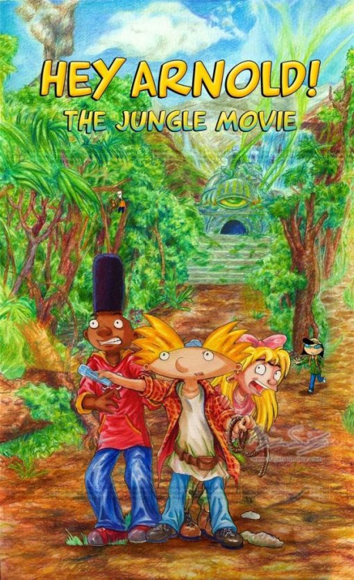 پوستر انیمیشن Hey Arnold The Jungle Movie 2017