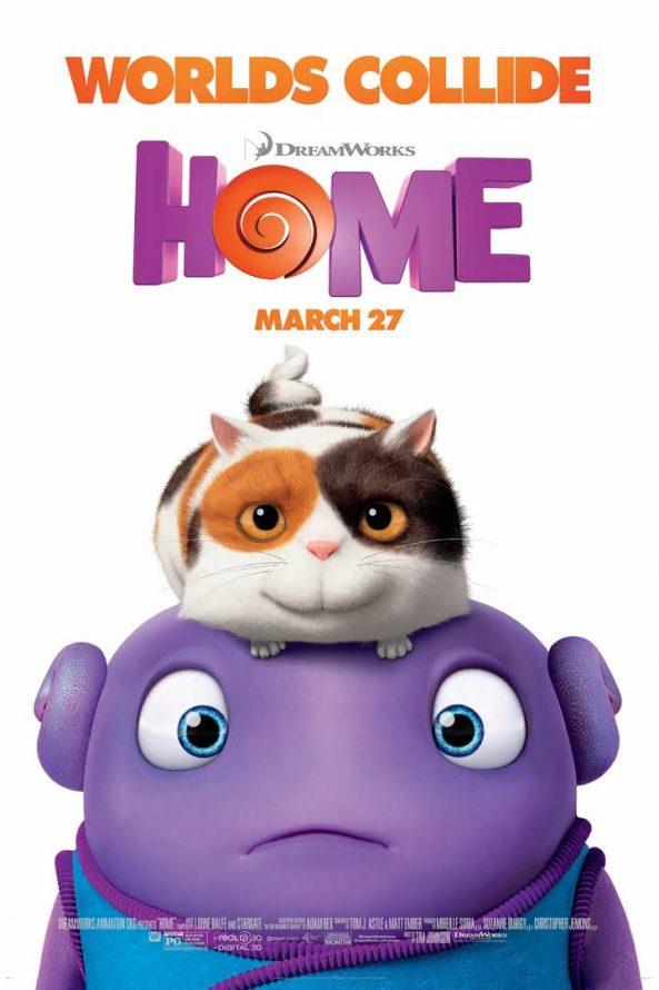 پوستر انیمیشن Home 2015