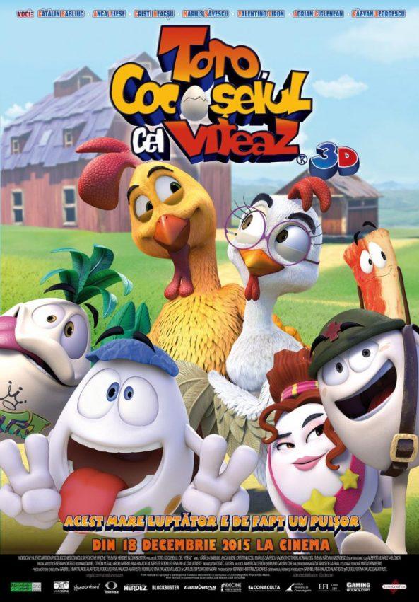 پوستر انیمیشن Huevos Little Rooster's Egg-cellent Adventure 2015