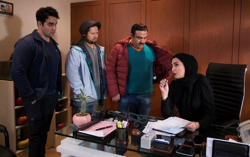 نمای چهارم فیلم Khaltoor با حضور پوریا پورسرخ و مهران غفوریان
