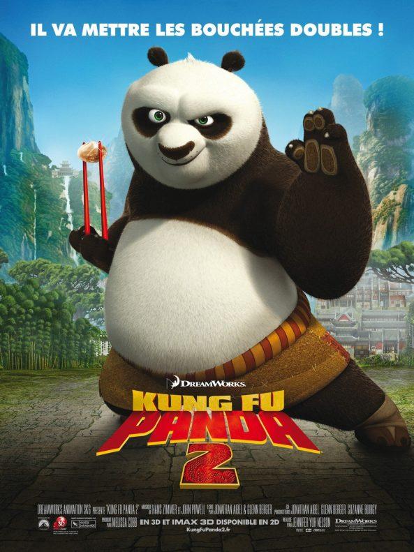 پوستر انیمیشن Kung Fu Panda 2 2011