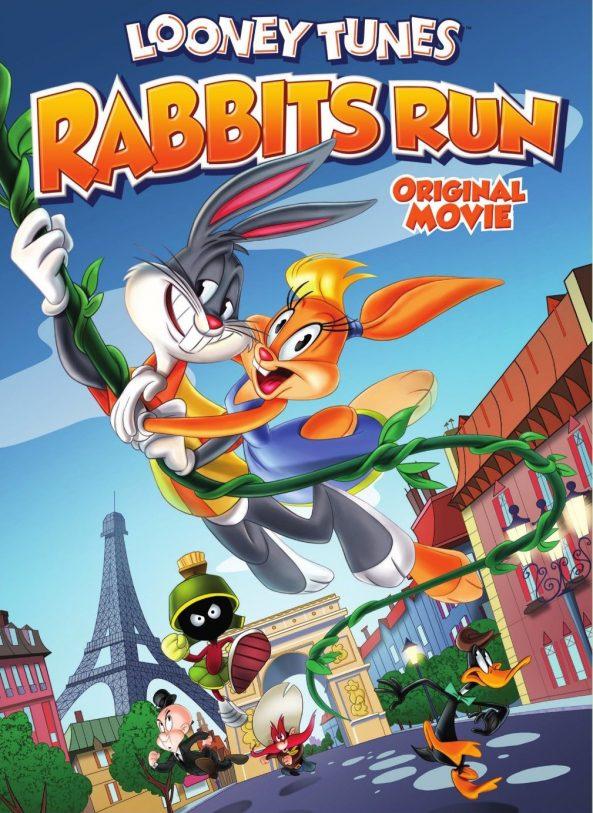 پوستر انیمیشن Looney Tunes Rabbits Run 2015