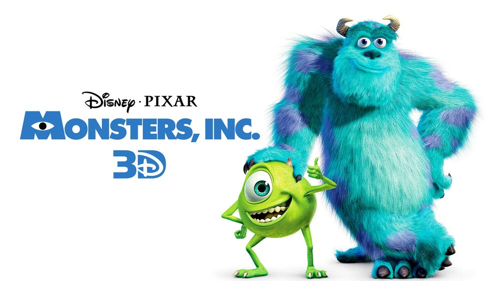 عکس اول از انیمیشن Monsters, Inc 2001