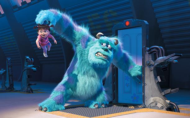 عکس دوم از انیمیشن Monsters, Inc 2001