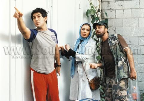 نمای چهارم فیلم با حضور رضا عطاران، نیوشا ضیغمی و محمدرضا گلزار