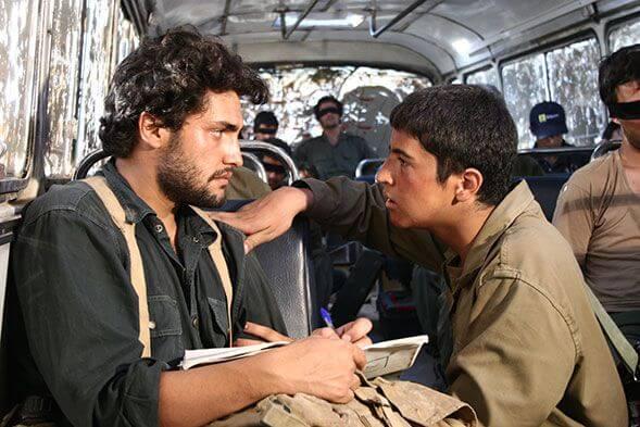 نمای دوم فیلم Otobuse shab با حضور مهرداد صدیقیان