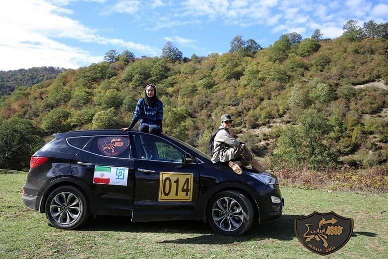 نمای اول مسابقه Rally Irani قسمت 2 با حضور ترلان پروانه