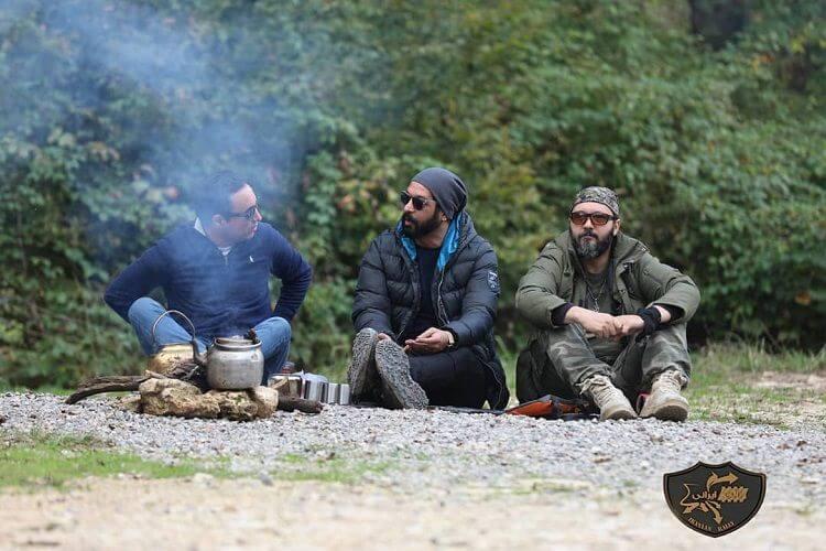 نمای سوم مسابقه Rally Irani قسمت 2 با حضور کامبیز دیرباز