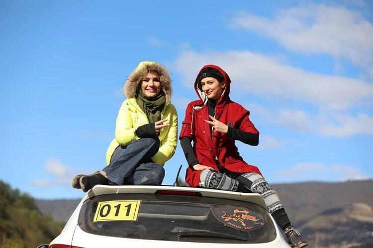 نمای اول مسابقه Rally Irani قسمت 17