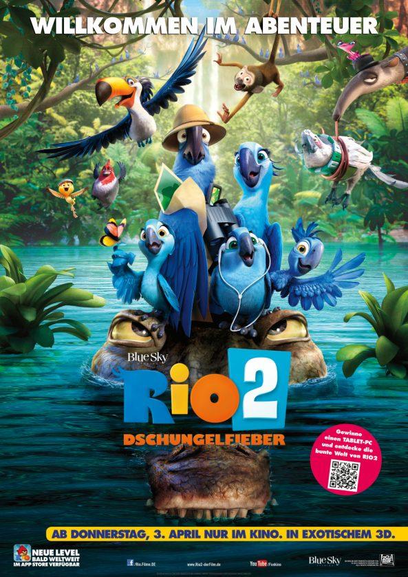 پوستر انیمیشن Rio 2 2014