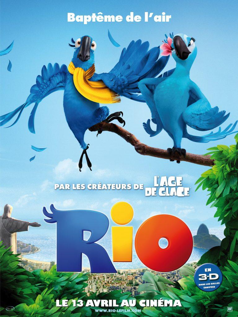 پوستر انیمیشن Rio 2011