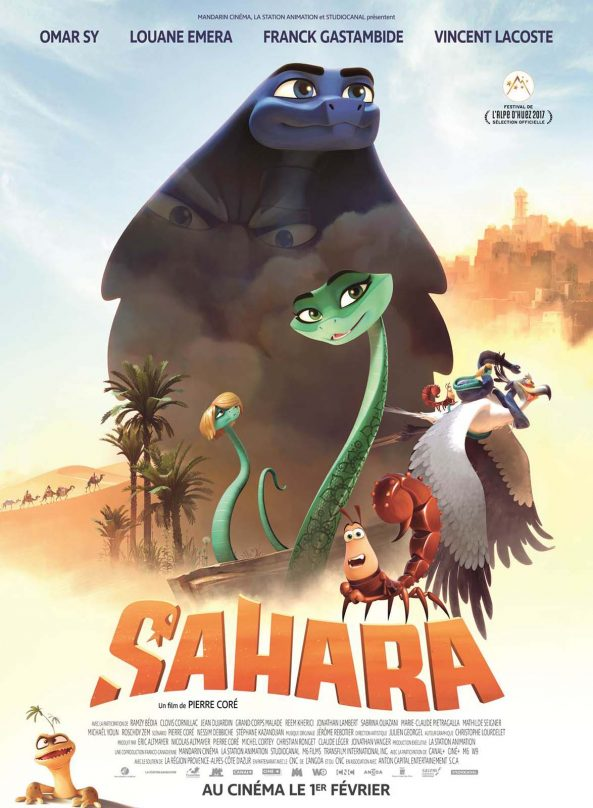 پوستر انیمیشن Sahara 2017
