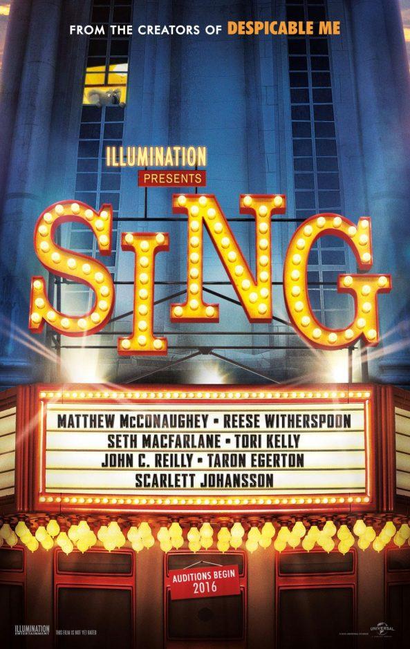 پوستر انیمیشن Sing 2016