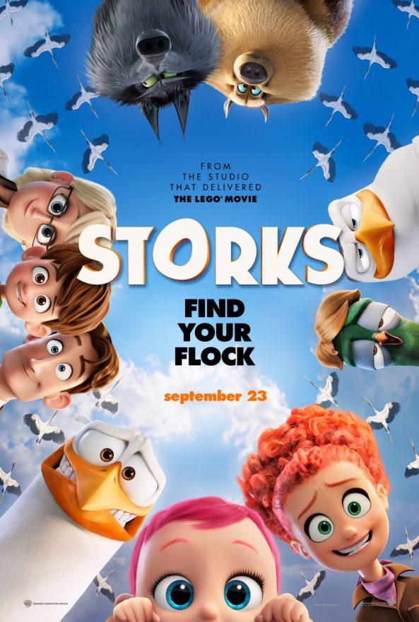 پوستر انیمیشن Storks 2016