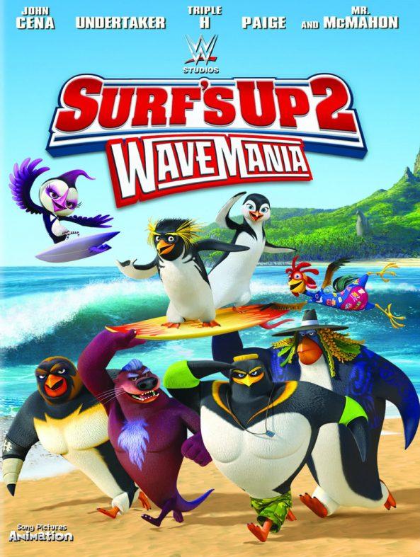 پوستر انیمیشن Surf's Up 2 WaveMania 2017