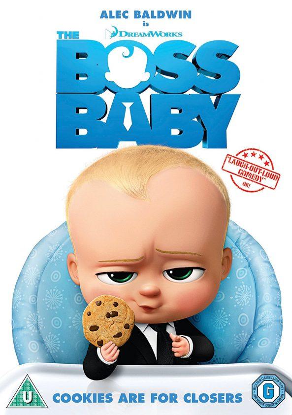 پوستر انیمیشن The Boss Baby 2017