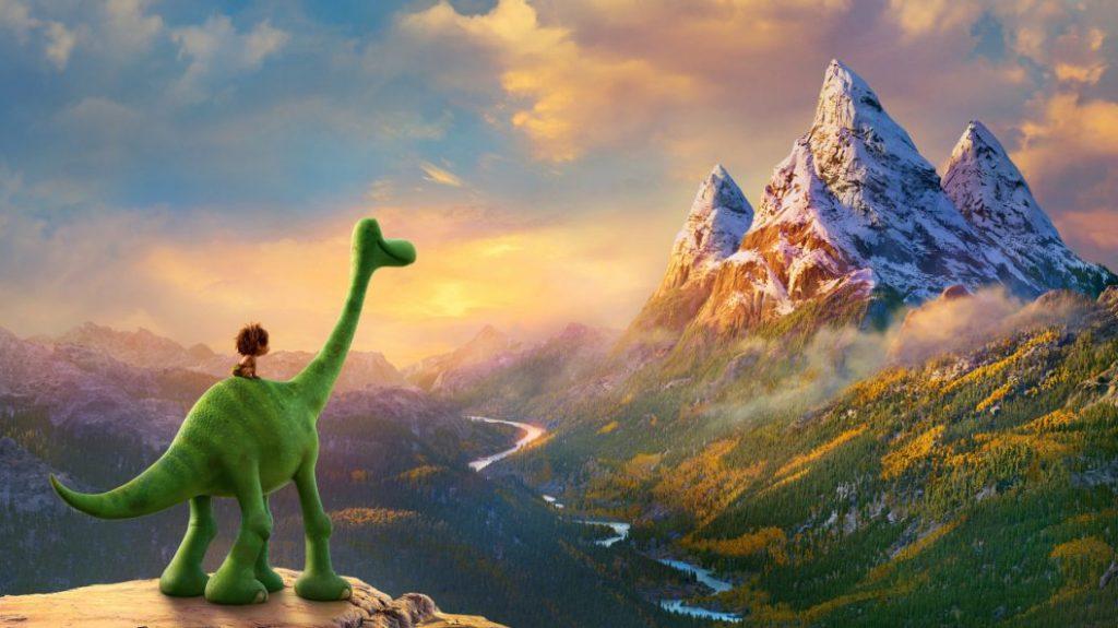 عکس دوم از انیمیشن The Good Dinosaur 2015
