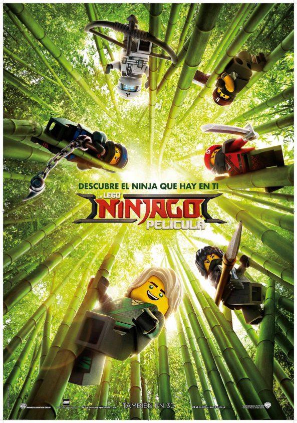 پوستر انیمیشن The LEGO Ninjago 2017