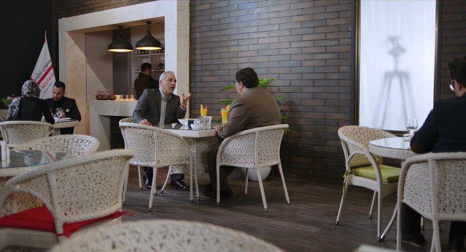 نمای سوم سریال The Monster با حضور فرهاد اصلانی و مهران مدیری