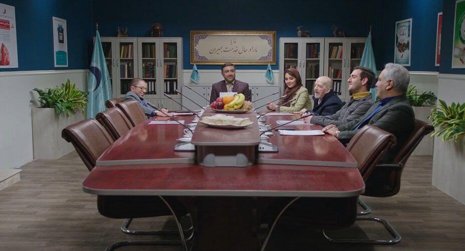 نمای دوم سریال The Monster قسمت 11 با حضور مهران مدیری و فرزین محدث