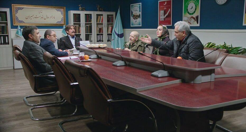 نمای سوم سریال The Monster قسمت 12 با حضور مهران مدیری و آزیتا ترکاشوند