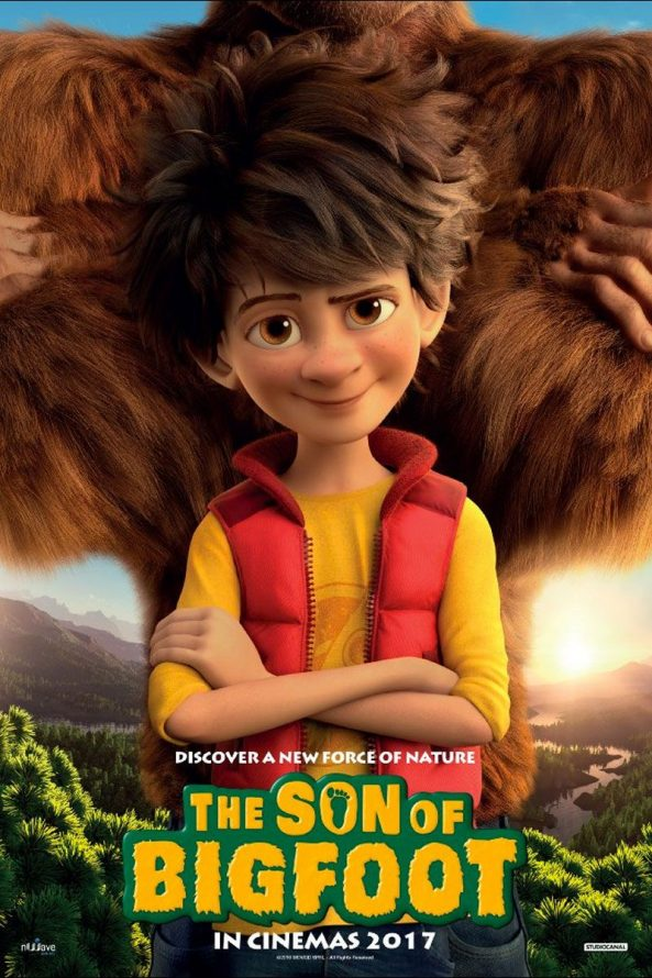 پوستر انیمیشن The Son of Bigfoot 2017