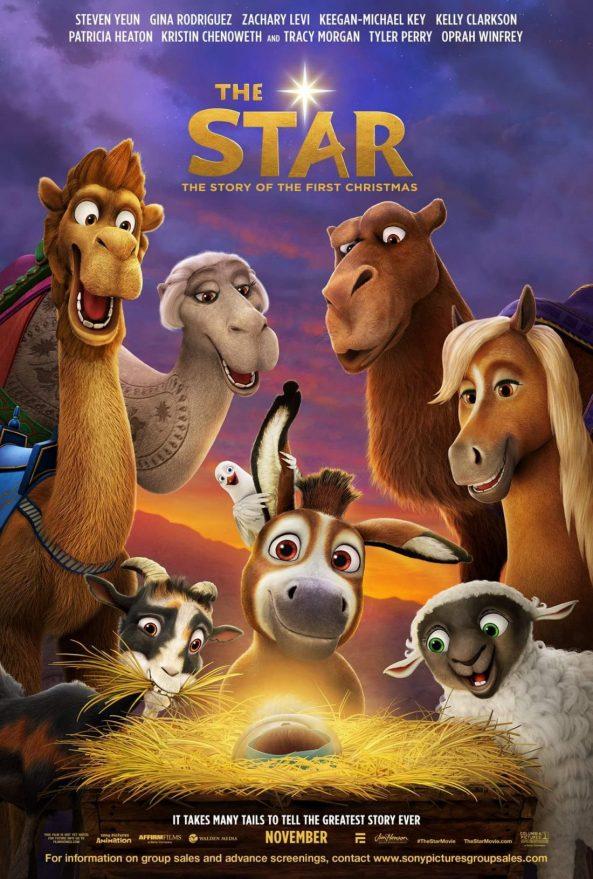 پوستر انیمیشن The Star 2017