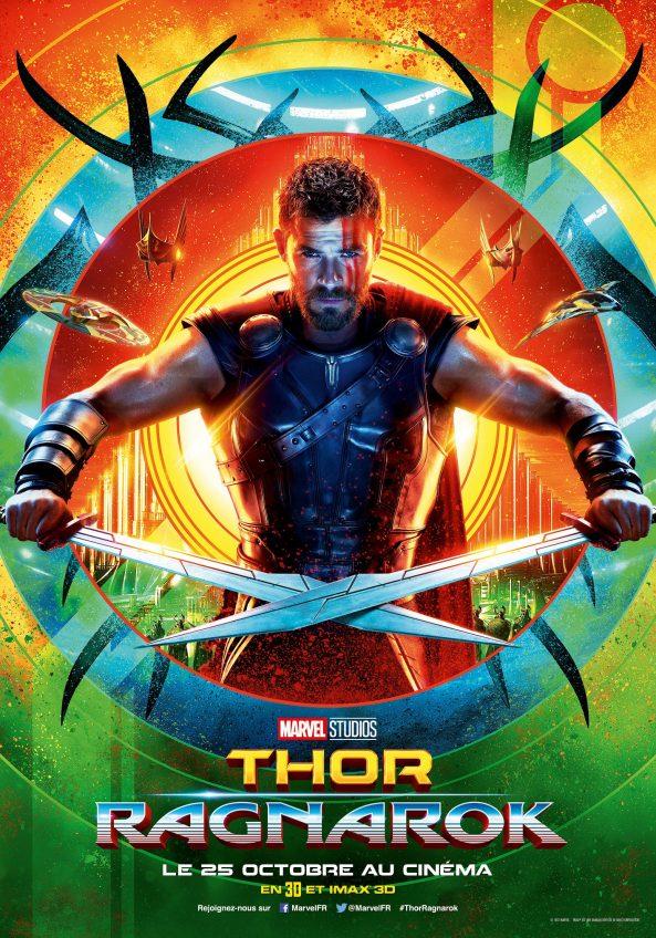 پوستر فیلم سینمایی Thor: Ragnarok 2017