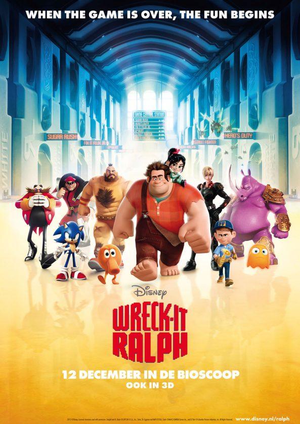 پوستر انیمیشن Wreck-It Ralph 2012