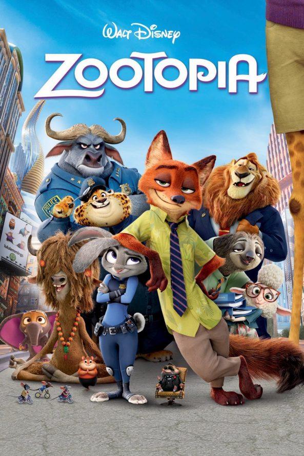 پوستر انیمیشن Zootopia 2016