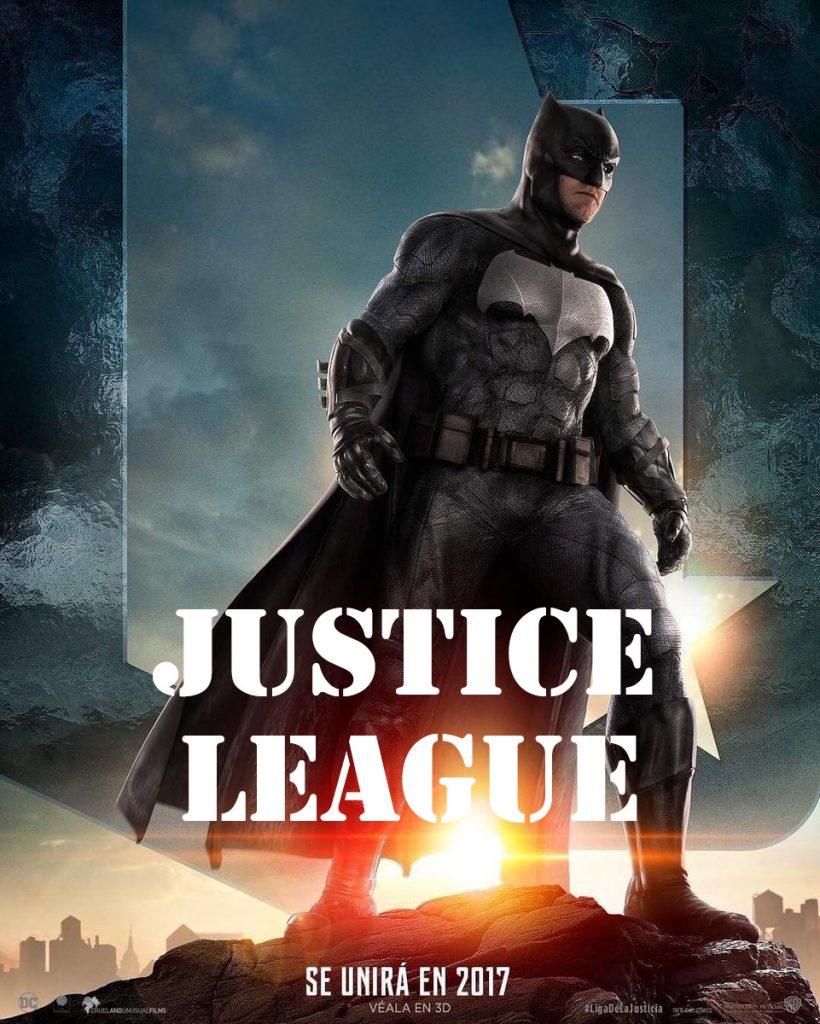 پوستر فیلم لیگ عدالت Justice League 2107
