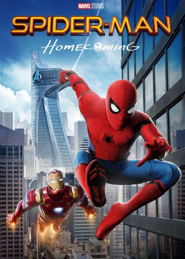 پوستر فیلم سینمایی spider man homecoming 2017